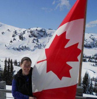 Lucinda and Canadian Flag.jpg